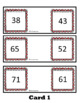 Understanding Place Value Compare Two Digit Numbers ~ Easy Set Up! Task Cards