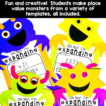 Place Value Craft | Place Value Activity