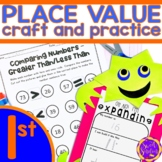 Expanded Form Place Value Craft and Practice Worksheets | Digital and Print