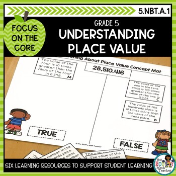 Focus on the Core: Understanding Place Value- Math Learning Activities