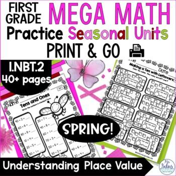 Understanding Place Value Mega Math Practice SPRING 1.NBT.