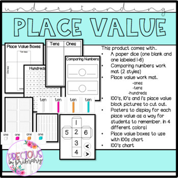 Understanding Place Value- Multiple Resource Pack