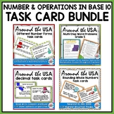 Understanding Place Value Number Operations in Base 10 AROUND THE USA BUNDLE
