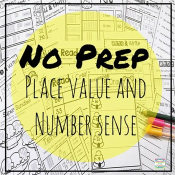 Understanding Place Value  ***NO PREP***