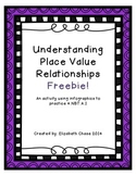 Understanding Place Value Relationships Freebie - 4.NBT.A.1