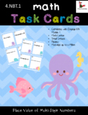 Understanding Place Value Task Cards Ten Times the Value to the Right