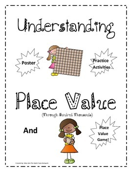Understanding Place Value Through Hundred Thousands + Practice Activity & Game!