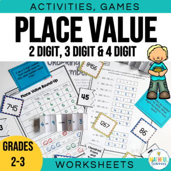 place value games activities and worksheets by alison hislop teachers pay teachers. Black Bedroom Furniture Sets. Home Design Ideas
