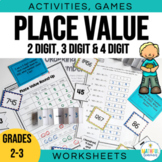 Place Value Games, Activities and Worksheets