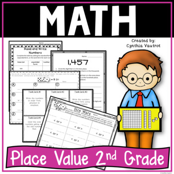 Place Value: Activities, Worksheets, and Games! (Place Value for 2nd Grade)