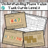 Understanding Place Value with the Montessori Golden Beads Task Cards Level 2