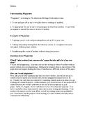 Understanding Plagiarism Handout
