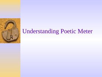 Understanding Poetic Meter