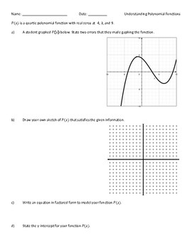 Understanding Polynomial Functions