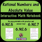 Understanding Positive and Negative Numbers and Absolute Value