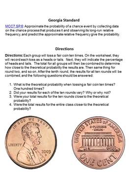 Understanding Probability - A Coin Toss Activity