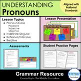 Understanding Pronouns: A  Middle School Grammar Resource