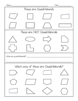 Understanding Quadrilaterals and Their Attributes - Common Core Math Geometry