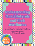 Understanding Quadrilaterals and Their Attributes - Common