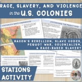 Race, Slavery, and Violence in the American Colonies Stati