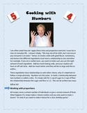 Understanding Ratio and Percentages in Math: Cooking with Numbers