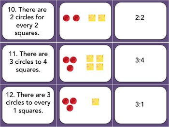 Understanding Ratios: Practice Cards