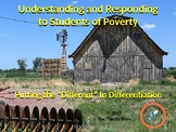 Understanding & Responding to Students of Poverty
