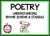 Understanding Rhyme Scheme and Stanzas in Poetry