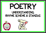 Understanding Rhyme Scheme and Stanzas in Poetry