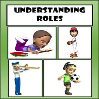 Understanding Roles - Story with Role Diagram, Answer Key, & Extension Activity