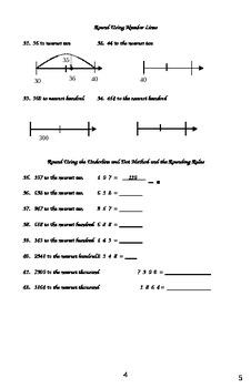 Understanding Rounding Workbook
