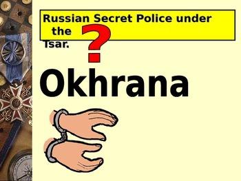 Understanding Russia 1905-1941 Quiz