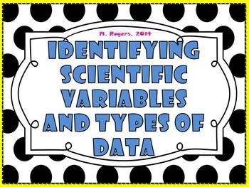 Scientific Variables