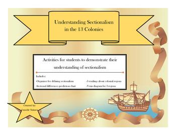 Understanding Sectionalism in the 13 Colonies