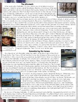 Understanding September 11 Close Reading Passage