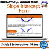 Understanding Slope-Intercept Form for Google Classroom