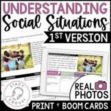 Understanding Social Situations Pragmatic Language 1st Ver