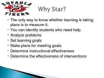 Understanding Star Math and Reading