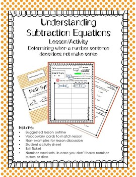 Understanding Subtraction Equations: Why We Can't Reverse Them
