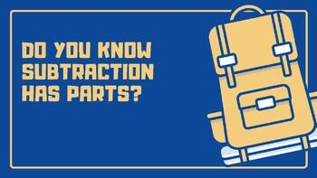 Understanding Subtraction Facts
