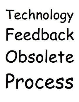 Understanding Technology Vocabulary Packet