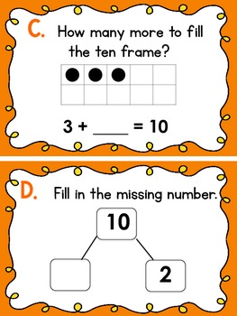 Understanding Ten- Around the Room Math Hunt