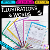Understanding Text & Illustrations- 2nd & 3rd Grade RL.2.7 & RL.3.7