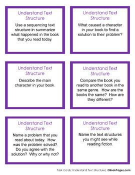 Understanding Text Structure with Picture Books (First Grade Book Bundle) CCSS