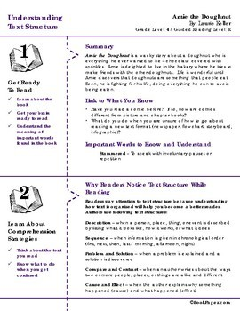 Understanding Text Structure with Picture Books (Fourth Grade Book Bundle) CCSS