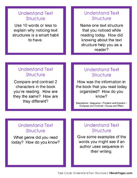 Understanding Text Structure with Picture Books (Second Grade Book Bundle #1)