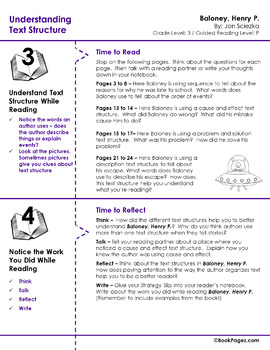 Understanding Text Structure with Picture Books (Third Grade Book Bundle) CCSS