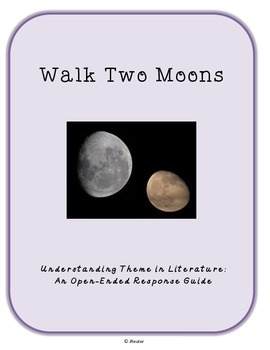 Understanding Theme in Literature using Walk Two Moons