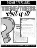 Understanding Theme/Thesis