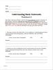 Understanding Thesis Statement Worksheets #1, #2, #3